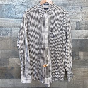 Nice plaid Nautica Button Down long Sleeve Shirt .